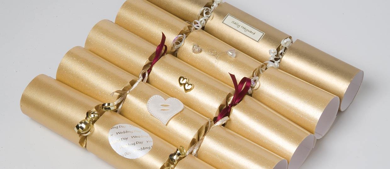 Hand made wedding crackers slide crackers 3 solutioingenieria Choice Image